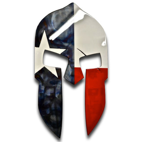 American Liquid Metal - Texas Spartan Sign