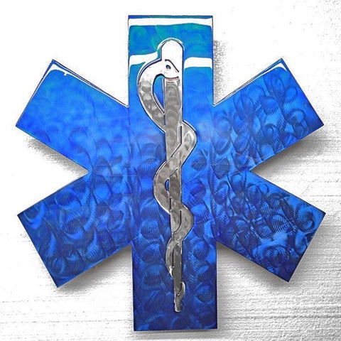 American Liquid Metal - BLUE EMS Sign