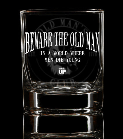PREORDER  Old Man's Club Whiskey Glass