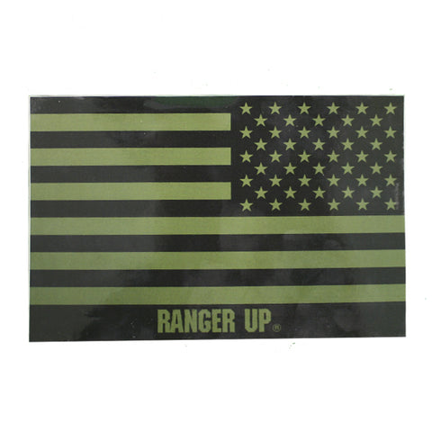 Subdued Flag Decal