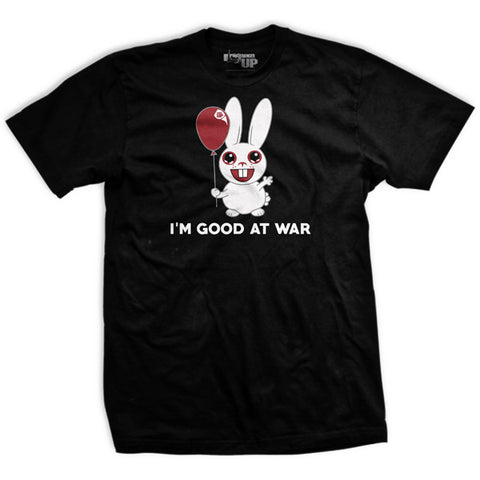 PREORDER I Am Good At War Ultra-Thin Vintage T-Shirt