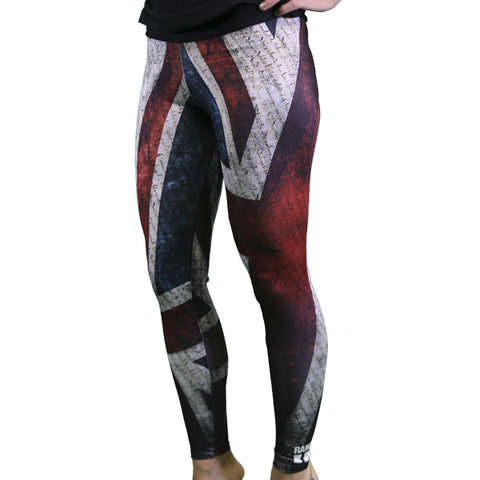 PREORDER WOMEN'S Brit Flag Leggings