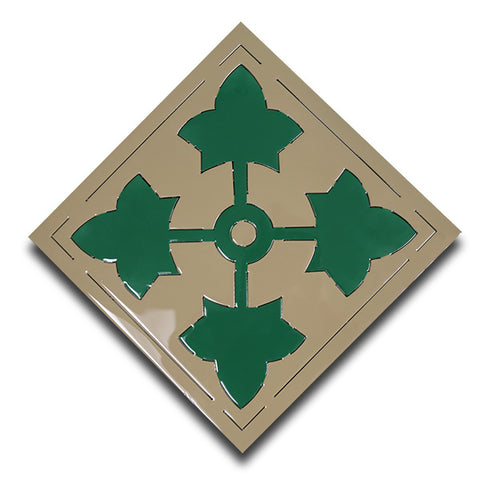 American Liquid Metal - 4th Infantry Division Sign