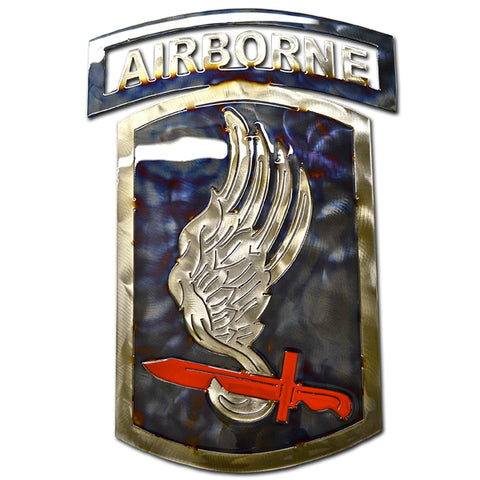 American Liquid Metal - 173rd Airborne Brigade Sign