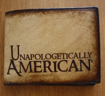 Unapologetically American Leather Wallet
