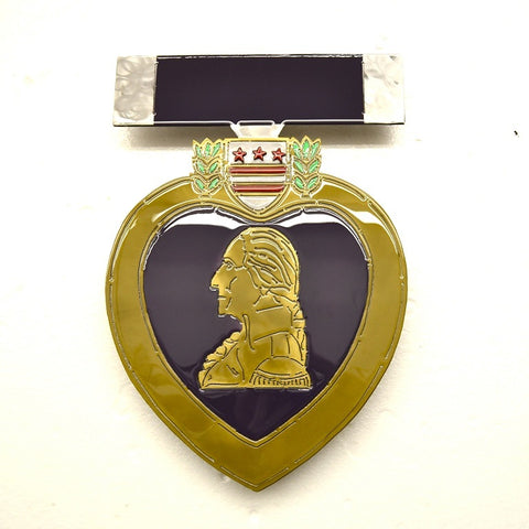 American Liquid Metal - Limited Edition Purple Heart Sign