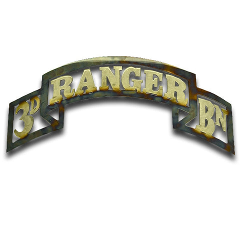 American Liquid Metal - 3/75th Ranger Battalion Scroll Sign