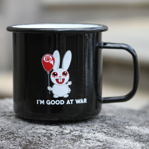 Good at War Tin Mug