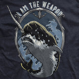 Narwhal I Am The Weapon T-Shirt