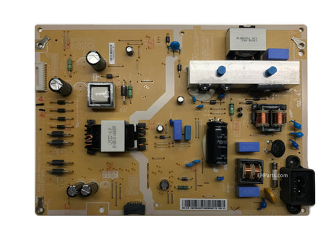 Overhead view of a replacement power supply TV board