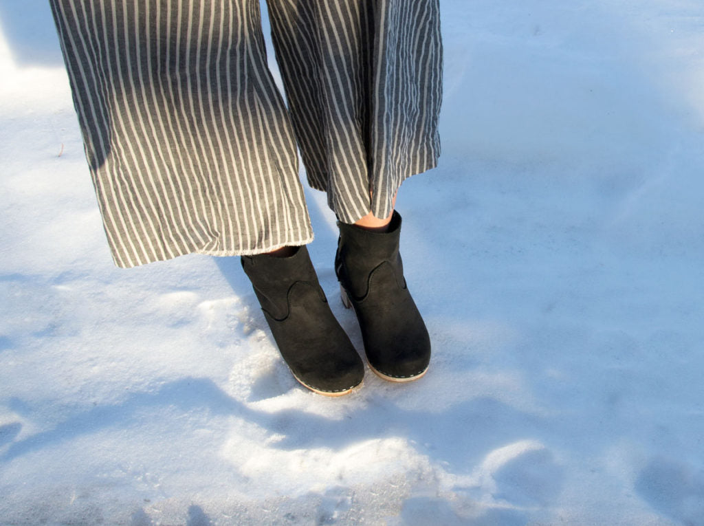 How to Care for Your Clog Boots in Winter
