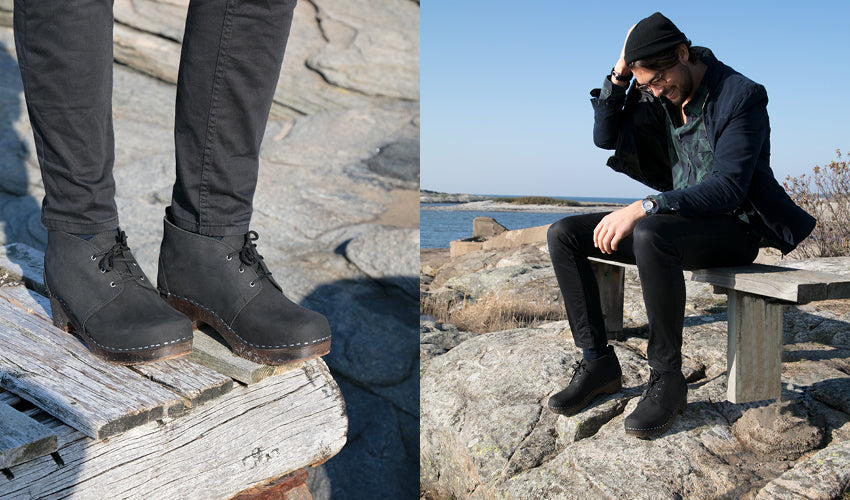 CHUKKA CAP TOE, RENEWED: THE PERFECT CLOG BOOT FOR FALL
