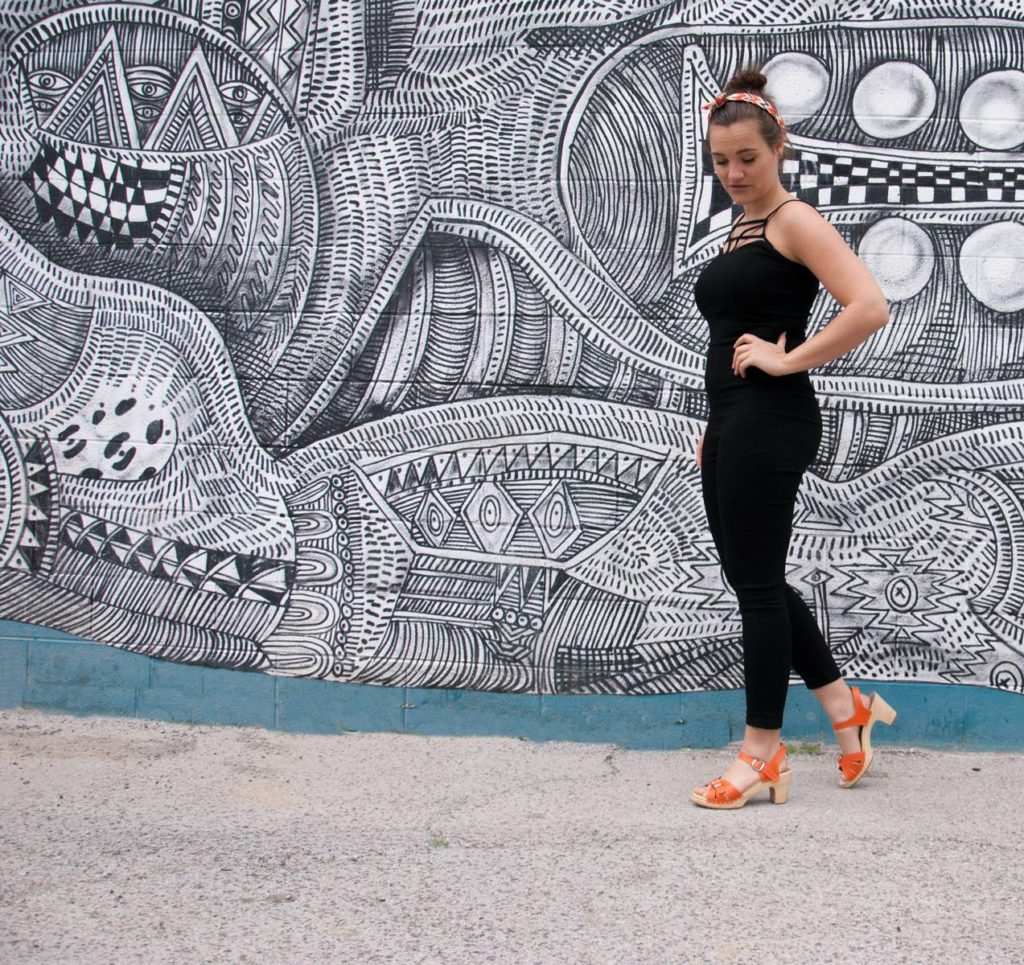 How to Style Clogs & Jumpsuits