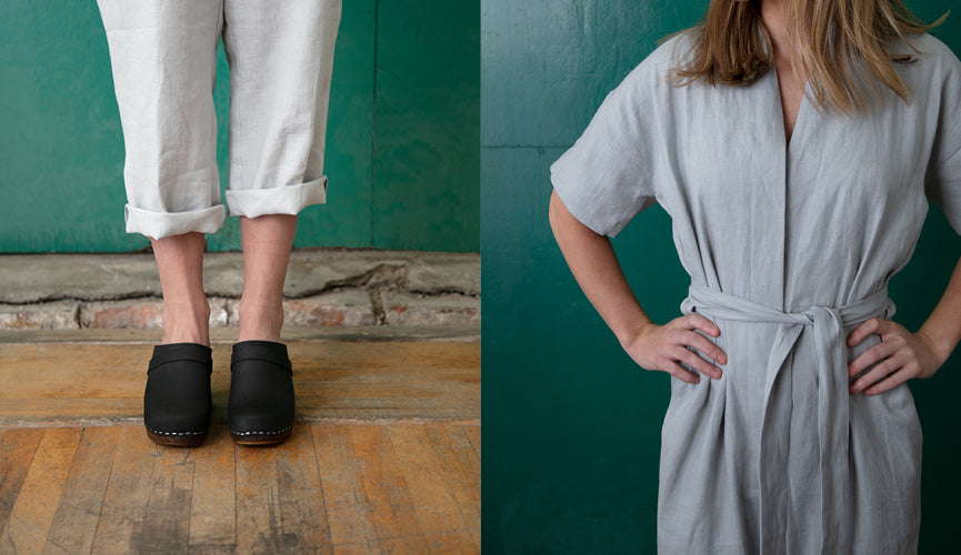 Clogs and Linen: an Authentic Match