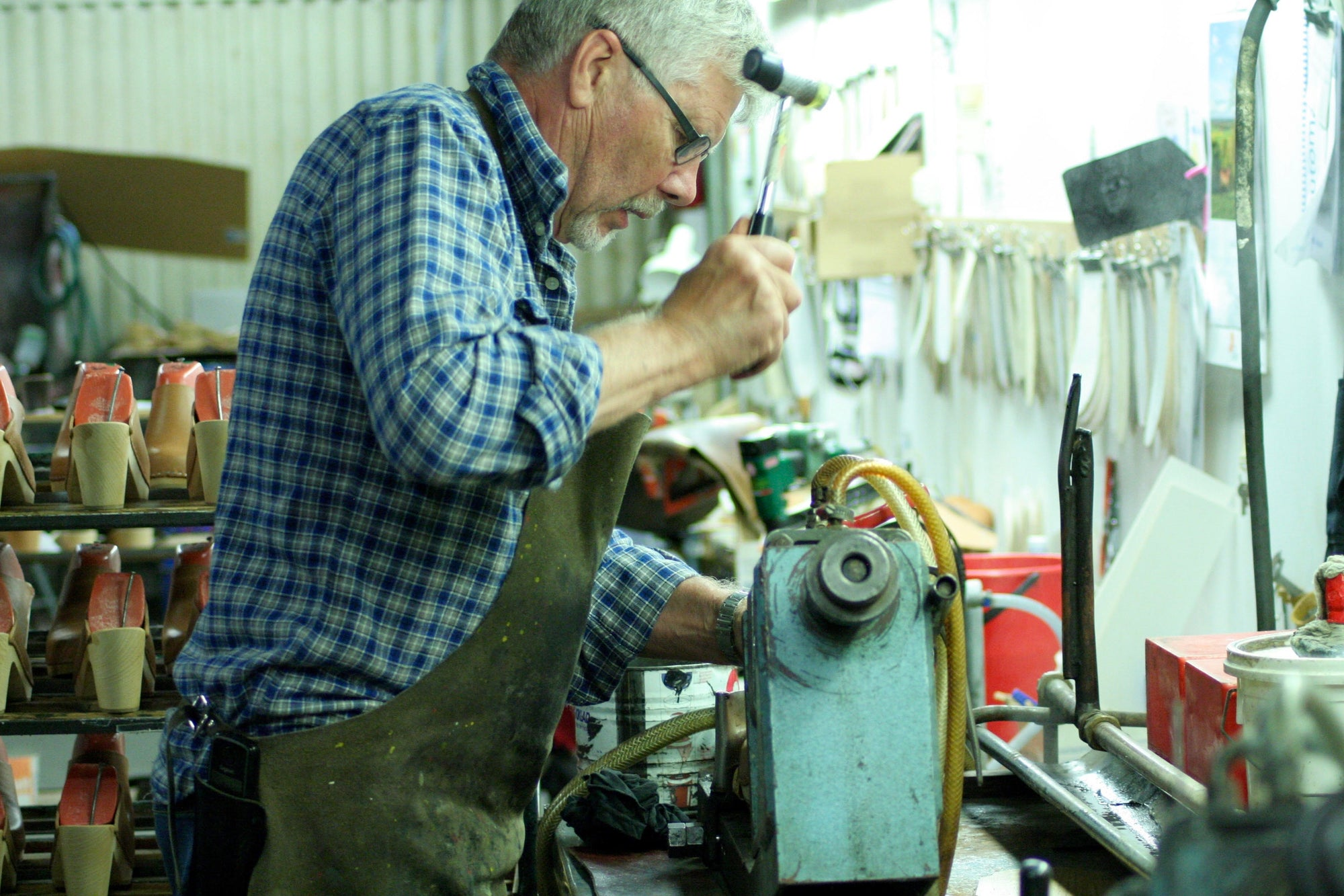Behind the Scenes: Sandgrens Clogs Factory Tour
