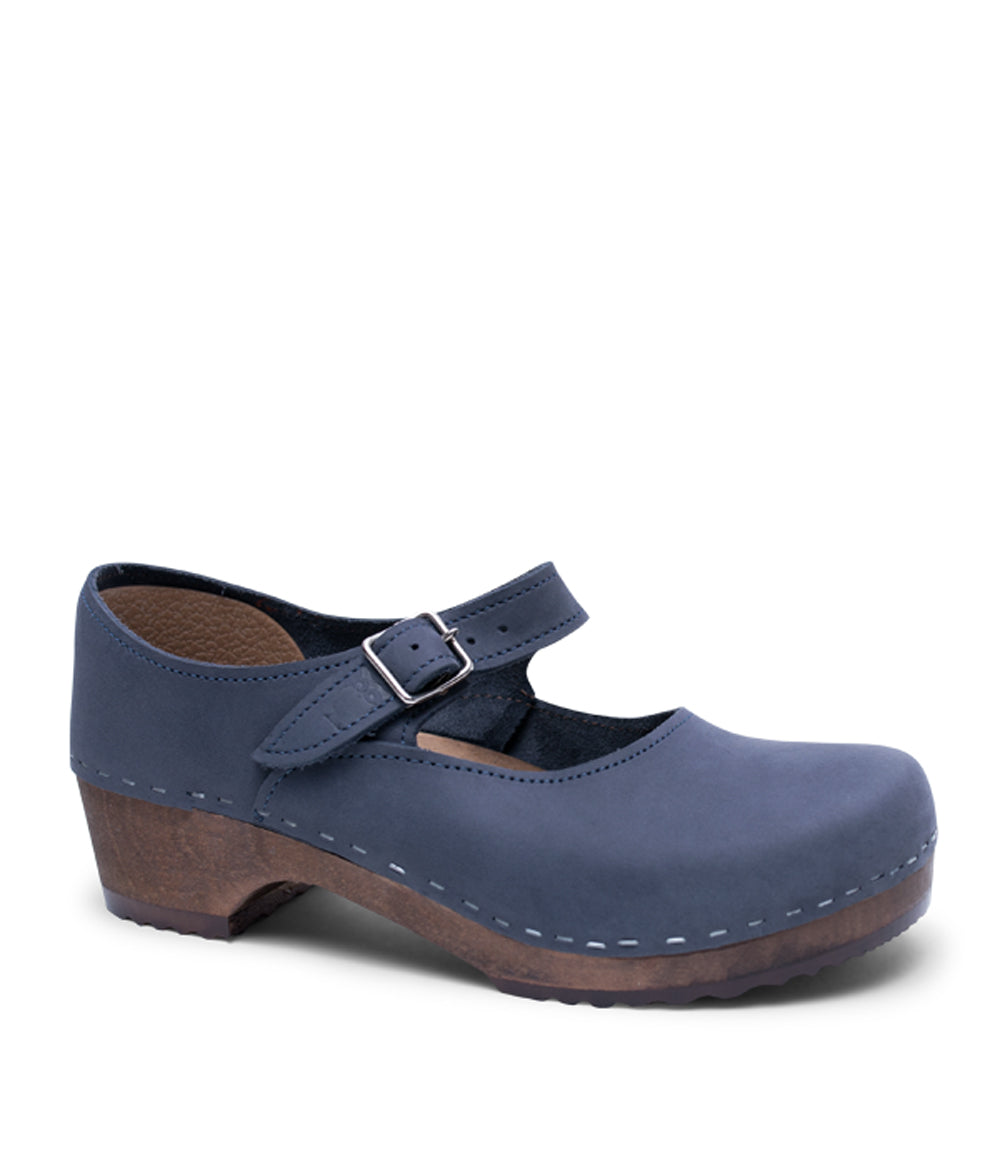 Mary Jane Low - Navy