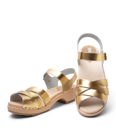 Rio Grande Low Narrow Fit - Metallic Gold- Size 40 Only