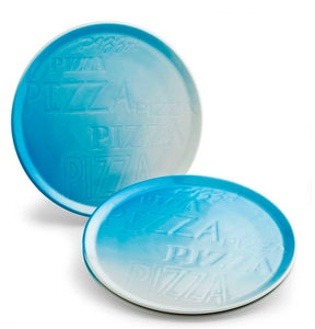 Blue Cinzia Pizza Plate (Set of 6)