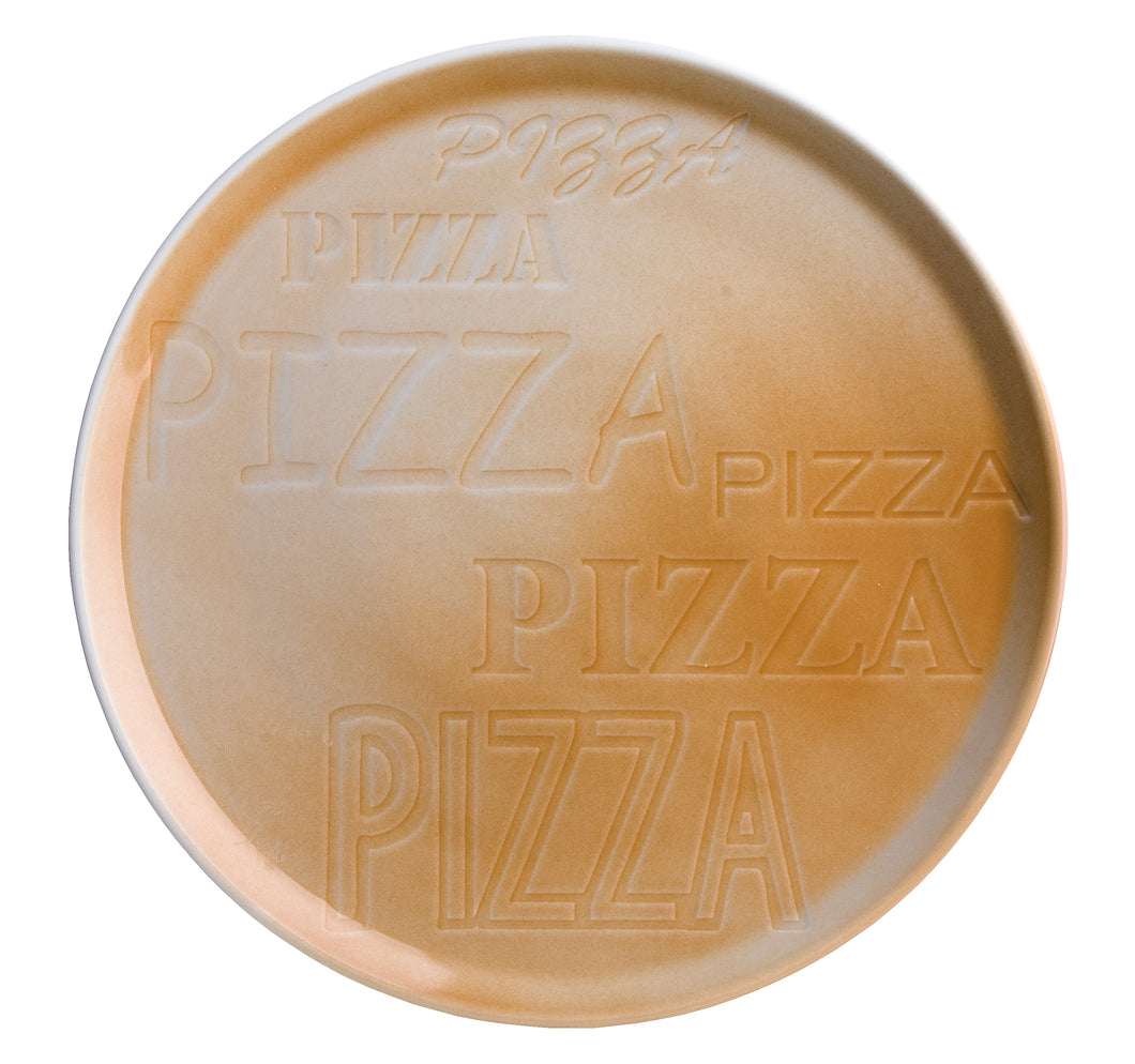 Brown Cinzia Pizza Plate (Set of 6)