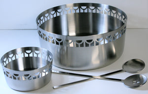 Salad Bowl & Salad Tong Set