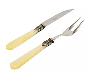 Napoleon Ivory Steak Knife & Meat Fork