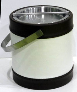 White & Black Ice Bucket