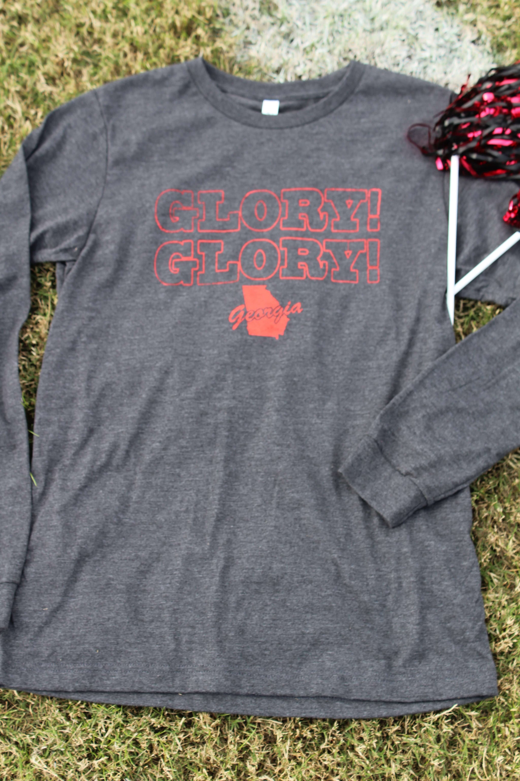 Glory! Glory! to ole Georgia long-sleeve t-shirt
