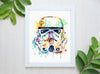 Stormtrooper Watercolor Art Print