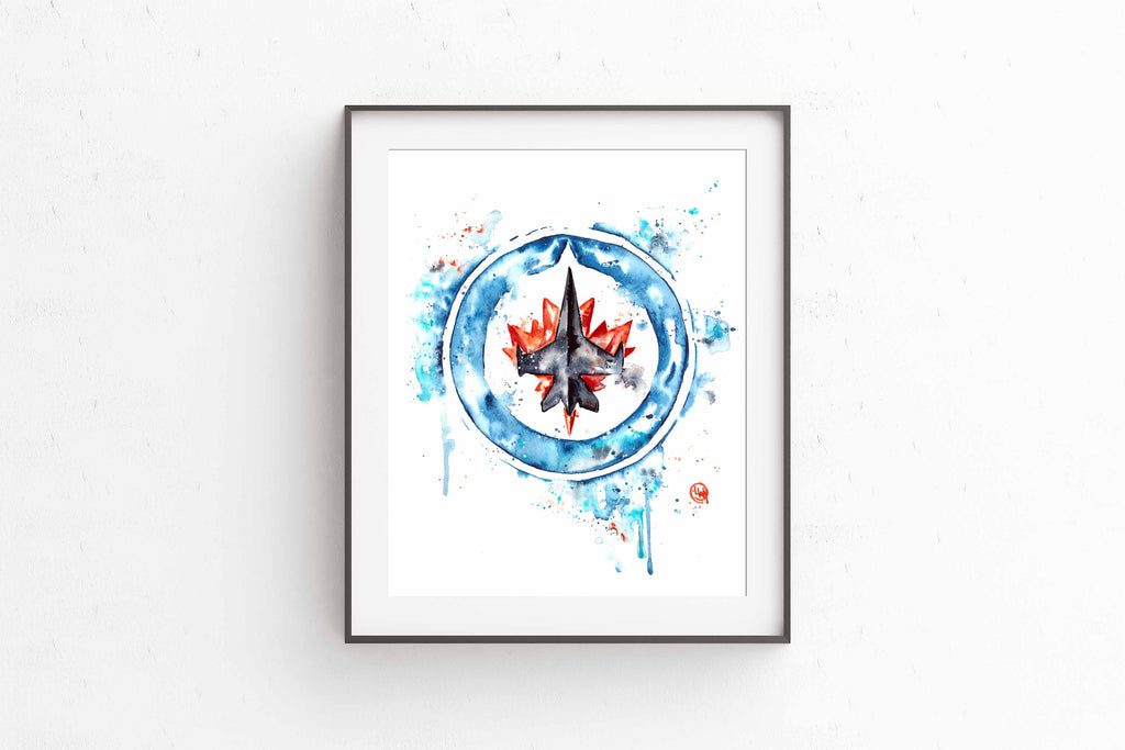 Winnipeg Jets Art Print