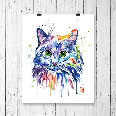 Cat - Rainbow Kitty
