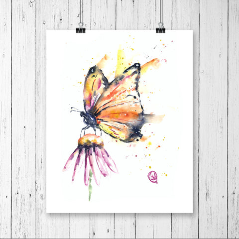 Monarch Butterfly - Flutter