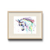 Unicorn Colorful Watercolor Painting