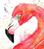Flamingo Watercolor Painting