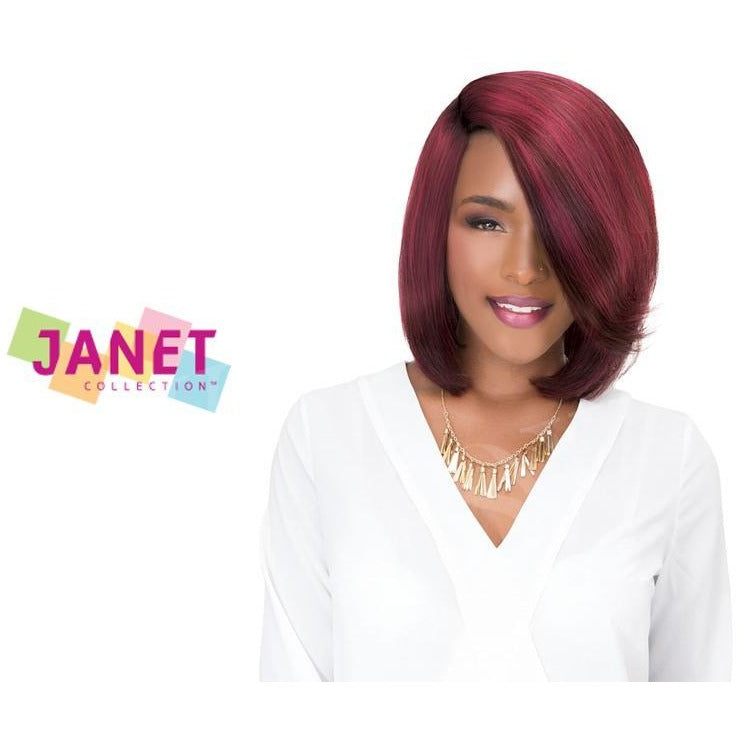 Janet Collection 100 Human Hair Weave Aria Bob Cut 5pcs Jsh Supplies