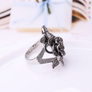 Vintage Flower Ring For Women