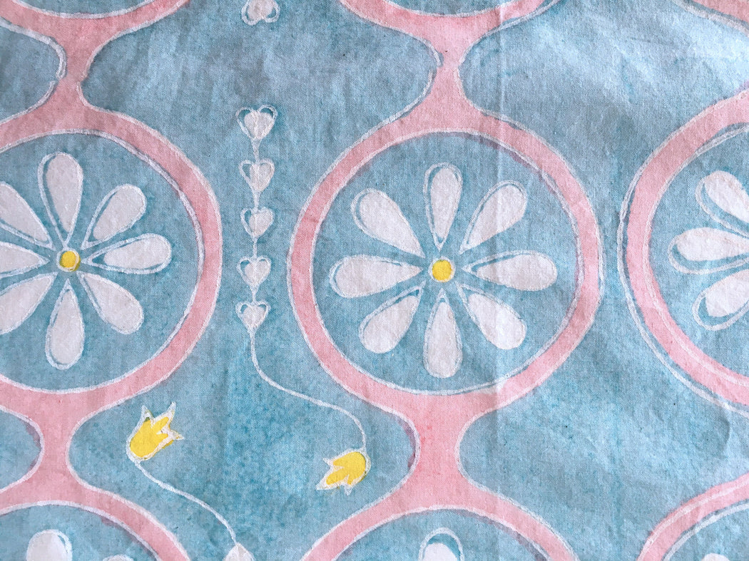 Pastel Daisy Chain Napkins • Set of 5