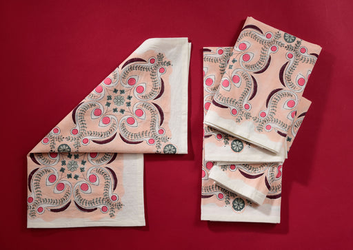Pink Splash Chloe Napkins • Set of 5
