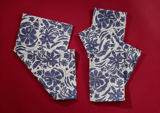 Cornflower Homegrown Napkins • Set of 5