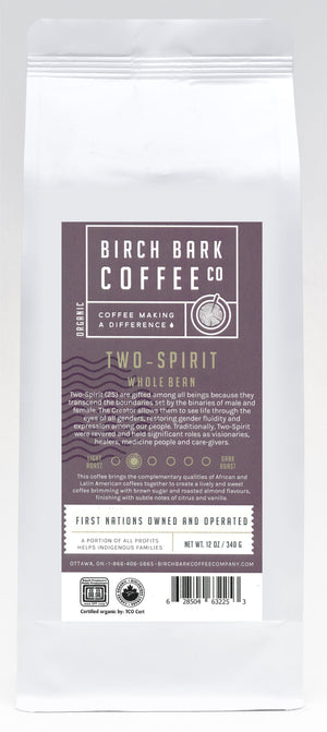 Two-Spirit (12 oz) Whole Bean/Ground (Light Roast)