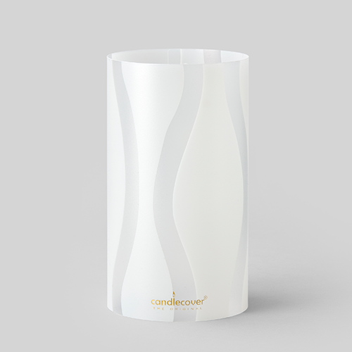 White Home Accessories Candlecover Candle