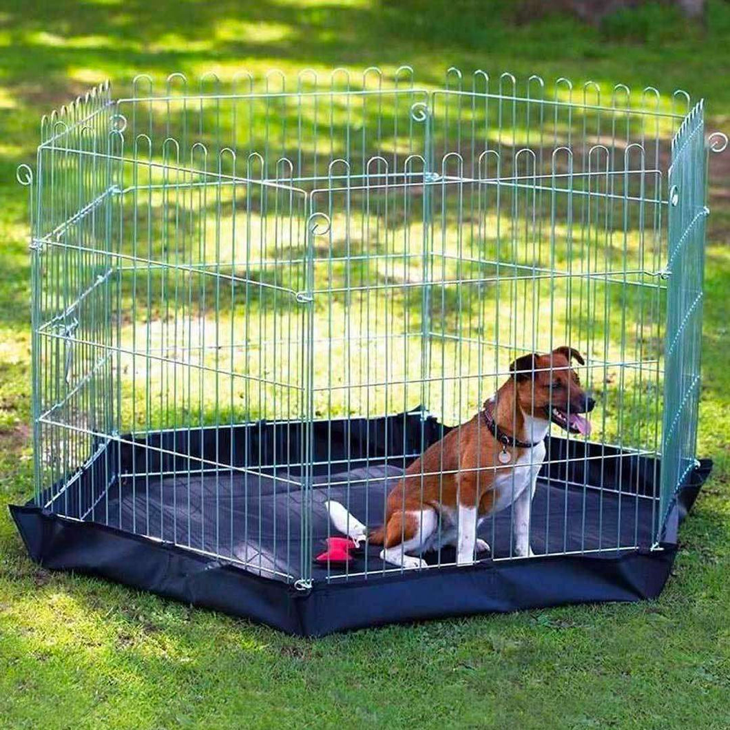 Henry Wag 6 Sided Dog Pen With Base