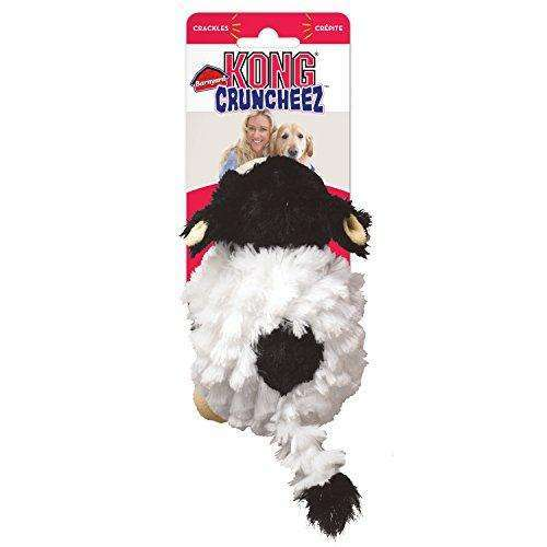 Compare prices for KONG Barnyard Cruncheez Cow Dog Toy - Small