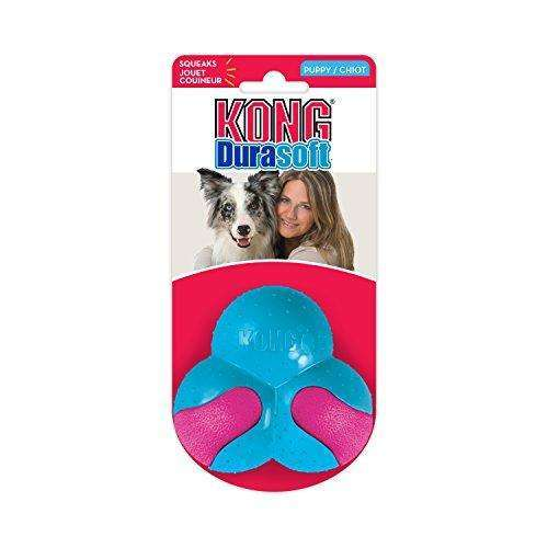Compare cheap offers & prices of KONG DuraSoft Puppy Clover Dog Toy Small manufactured by KONG