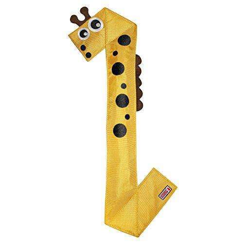 Compare cheap offers & prices of KONG Ballistic Flatz Giraffe Large manufactured by KONG