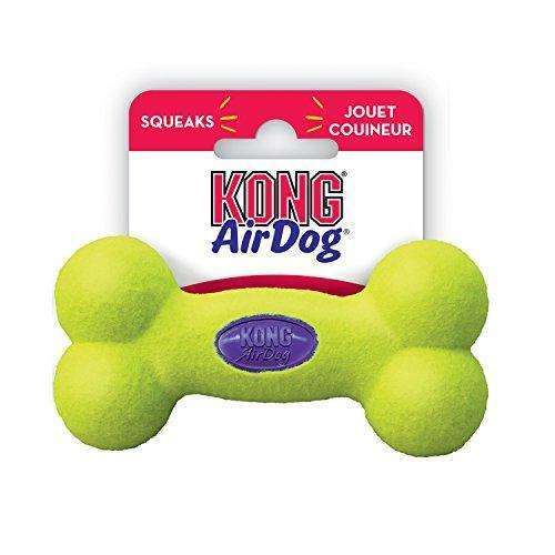 Cheapest price of KONG Air Dog Squeaker Bone Dog Toy - Small 11cm in new is £5.99