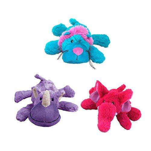 Compare cheap offers & prices of KONG Cozie Brights Dog Toy - Medium 26.5cm manufactured by KONG