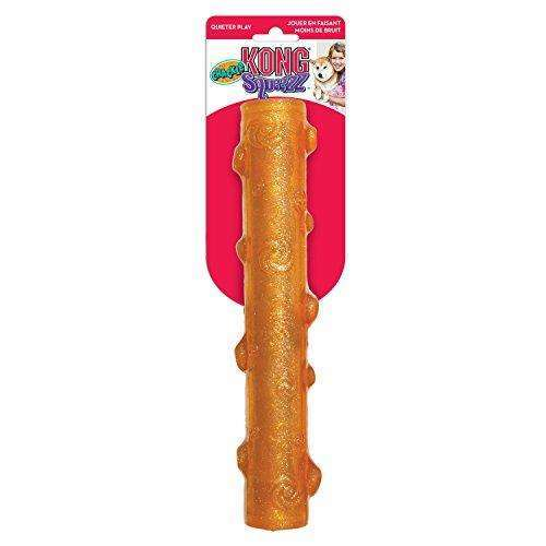 KONG Squeezz Crackle Stick Dog Toy, Large