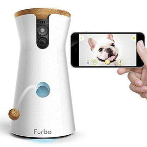 Furbo Dog Treat Tossing, HD WiFi Camera