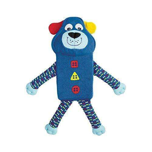 Compare cheap offers & prices of KONG Zillowz Dog Blue Dog Toy Small manufactured by KONG