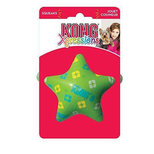 Compare cheap offers & prices of KONG Xpressions Star Dog Toy Large manufactured by KONG